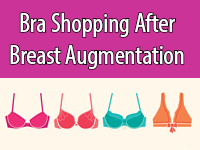 Guide to Bra Shopping after Breast Augmentation.