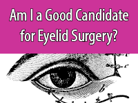 Eyelid surgery can be an option for reversing signs of aging in the face.