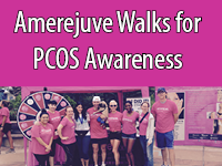 Amerejuve Walks for PCOS Awareness