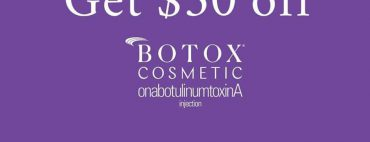 Sign up for the Brilliant Distinctions incentive program on ownyourlook.com and get $50 off your next Botox injections