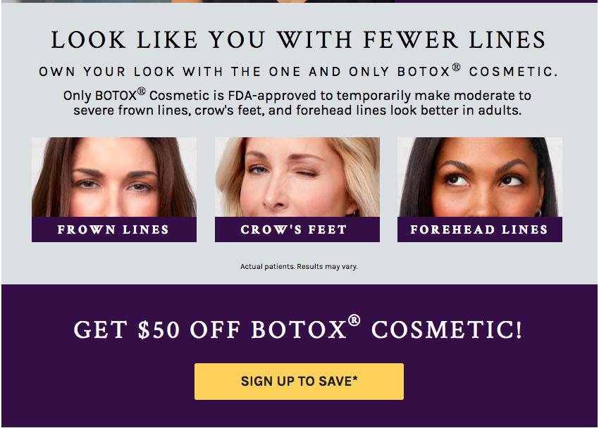 Botox offer 50$ off Houston    Botox offer 50$ off Atlanta