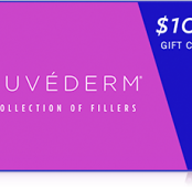 Purchase a $100 JUVÉDERM® Collection of Fillers gift card for only $75!
