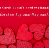 Valentine's Day Gift Cards are the BEST Gift…EVER!!